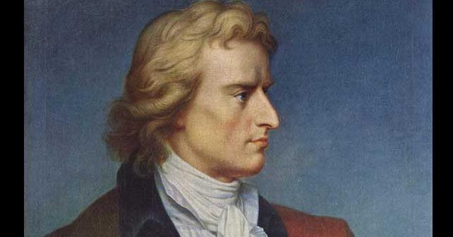 Na fotografiji je prikazan književnik, pesnik, filozof, istoričar: Fridrih Šiler (Friedrich Schiller)