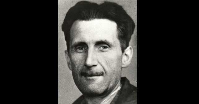 Na fotografiji je prikazan književnik: Džordž Orvel (George Orwell)