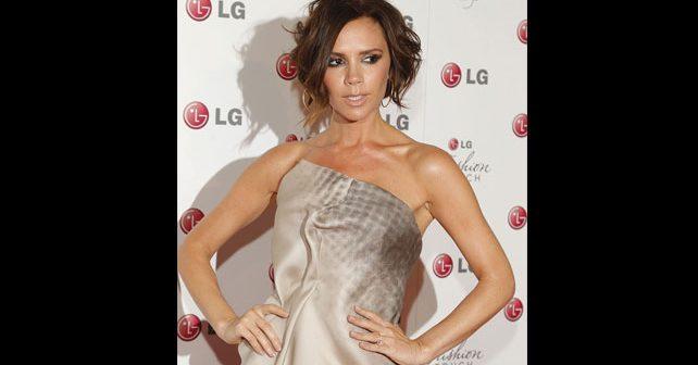 Na fotografiji je prikazan modni dizajner, pevačica: Victoria Beckham (Viktorija Bekam)