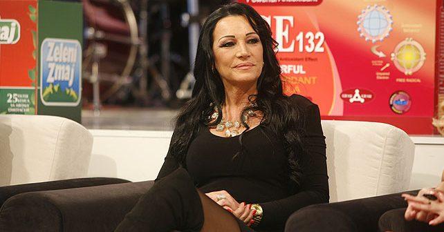 Na fotografiji je prikazan pevačica: Goca Božinovska