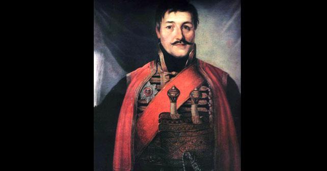 Na fotografiji je prikazan vojskovođa, vojnik: Đorđe Petrović (Karađorđe)