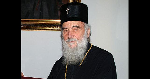 Na fotografiji je prikazan patrijarh, arhiepiskop: Irinej (patrijarh srpski)
