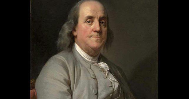 Na fotografiji je prikazan političar, pisac, naučnik: Bendžamin Frenklin (Benjamin Franklin)