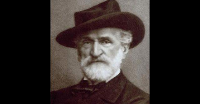 Na fotografiji je prikazan kompozitor: Đuzepe Verdi (Giuseppe Verdi)