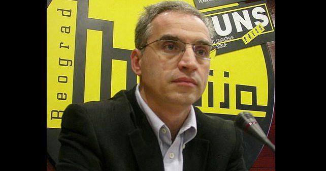 Na fotografiji je prikazan političar, doktor pravnih nauka: Goran Svilanović
