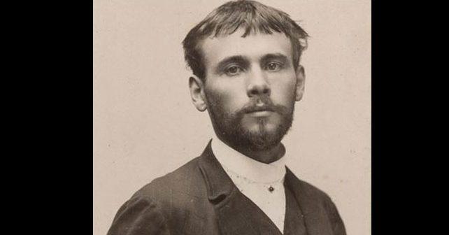 Na fotografiji je prikazan slikar: Gustav Klimt