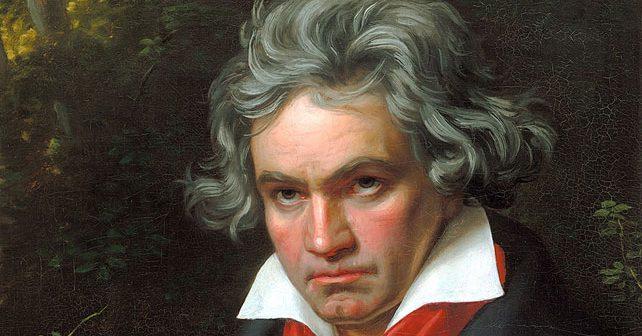 Na fotografiji je prikazan kompozitor, pijanist: Ludvig van Betoven (Ludwig van Beethoven)
