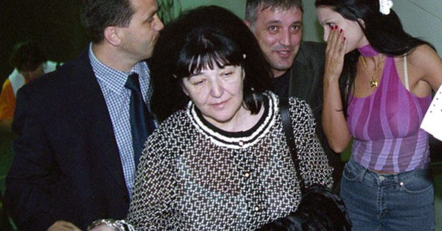 Na fotografiji je prikazan sociolog, političarka: Mirjana Mira Marković