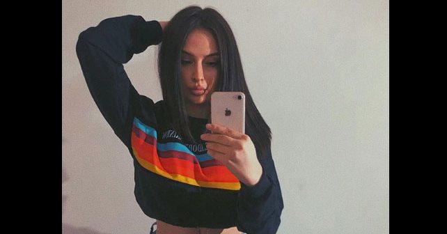 Na fotografiji je prikazan model, manekenka: Natalija Conić