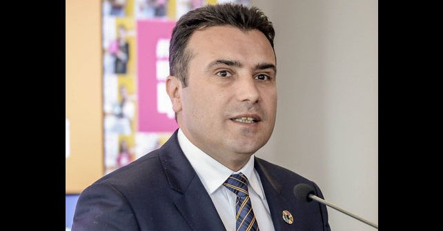 Na fotografiji je prikazan političar: Zoran Zaev