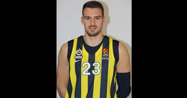 Na fotografiji je prikazan košarkaš: Marko Gudurić