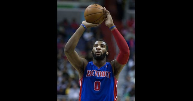 Na fotografiji je prikazan košarkaš: Andre Dramond (Andre Drummond)