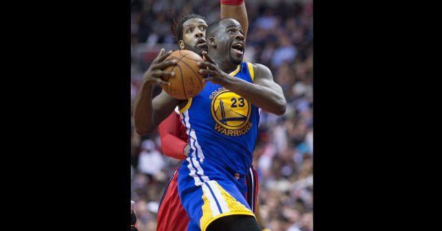 Na fotografiji je prikazan košarkaš: Drejmond Grin (Draymond Green)