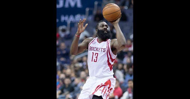 Na fotografiji je prikazan košarkaš: Džejms Harden (James Harden)