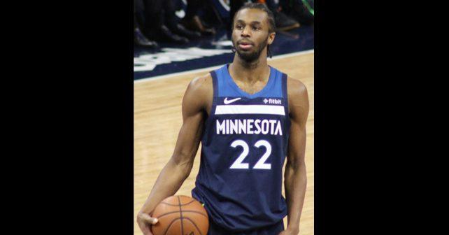 Na fotografiji je prikazan košarkaš: Endrju Vigins (Andrew Wiggins)