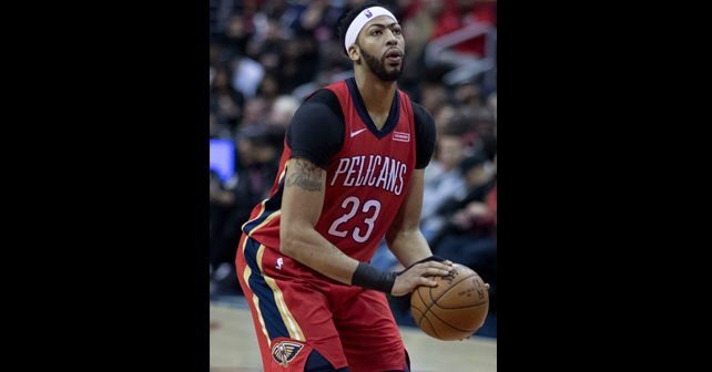 Na fotografiji je prikazan košarkaš: Entoni Dejvis (Anthony Davis)