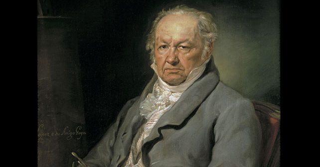 Na fotografiji je prikazan slikar, crtač, grafičar: Fransisko Goja (Francisco Goya)