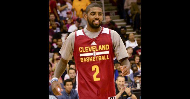 Na fotografiji je prikazan košarkaš: Kajri Irving (Kyrie Irving)