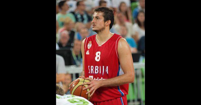 Na fotografiji je prikazan košarkaš: Nemanja Bjelica