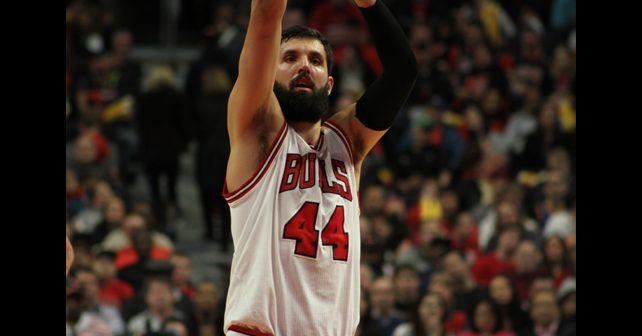 Na fotografiji je prikazan košarkaš: Nikola Mirotić