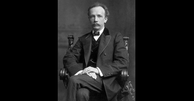 Na fotografiji je prikazan kompozitor, dirigent: Rihard Štraus (Richard Strauss)