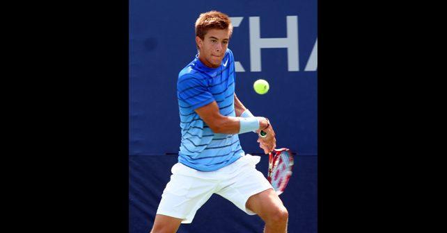 Na fotografiji je prikazan teniser: Borna Ćorić