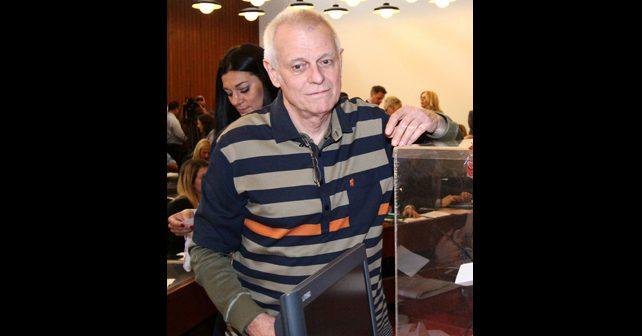 Na fotografiji je prikazan glumac, pisac: Branislav Milićević (Branko Kockica)