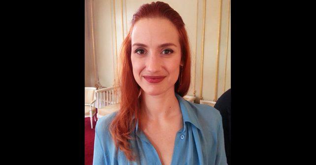 Na fotografiji je prikazan glumica: Danica Ćurčić