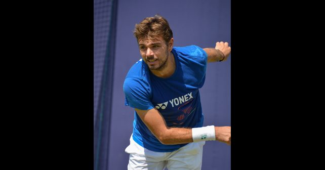 Na fotografiji je prikazan teniser: Stanislas Vavrinka