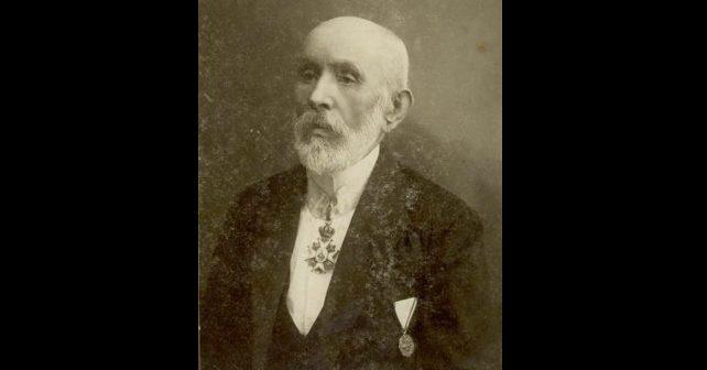 Na fotografiji je prikazan kompozitor, dirigent: Davorin Jenko