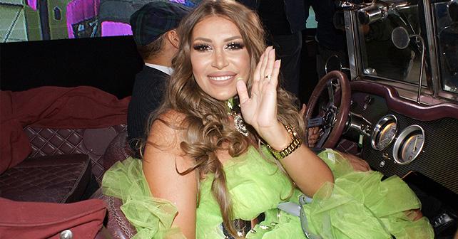 Na fotografiji je prikazan rijaliti zvezda: Dalila Dragojević