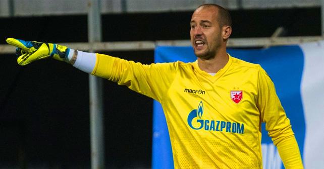 Na fotografiji je prikazan fudbaler: Milan Borjan