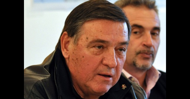 Na fotografiji je prikazan političar, građevinski inženjer: Milutin Mrkonjić