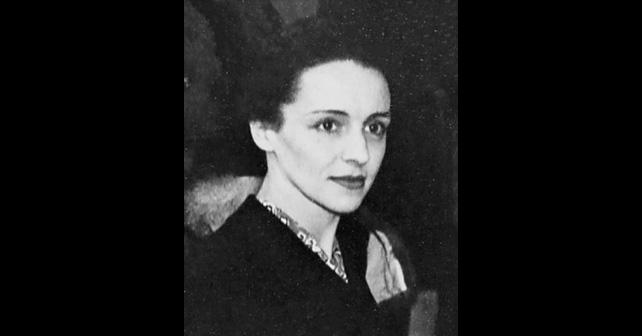 Na fotografiji je prikazan književnica, novinarka: Eva Kiri (Eve Curie)