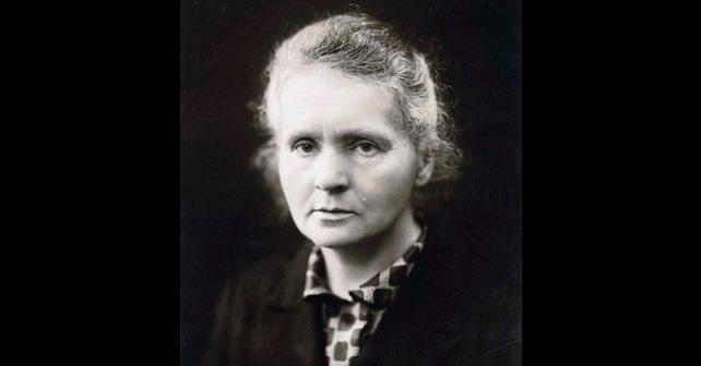 Na fotografiji je prikazan fizičarka, hemičarka: Marija Kiri (Marie Curie)