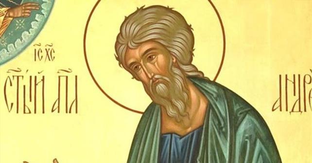 Na fotografiji je prikazan ribar, propovednik: Sveti apostol Andrej