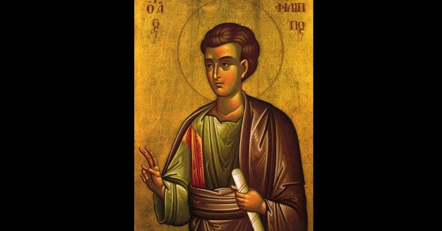 Na fotografiji je prikazan propovjednik: Sveti apostol Filip