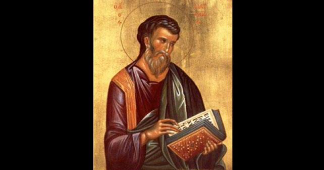 Na fotografiji je prikazan propovjednik: Sveti apostol Matej