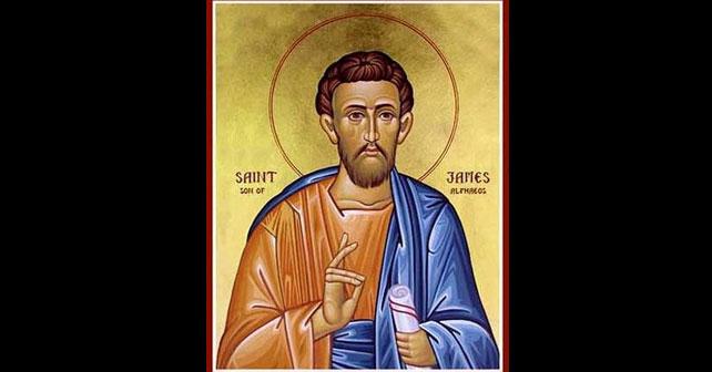 Na fotografiji je prikazan propovjednik: Sveti apostol Jakov Alfejev