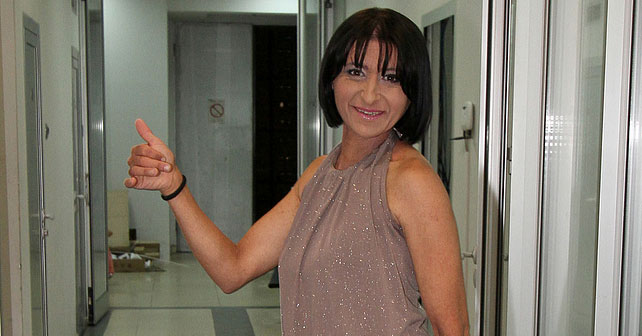 Na fotografiji je prikazan nepoznato: Ivana Željković Žizela