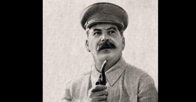 Na fotografiji je prikazan političar, državnik: Josif Staljin