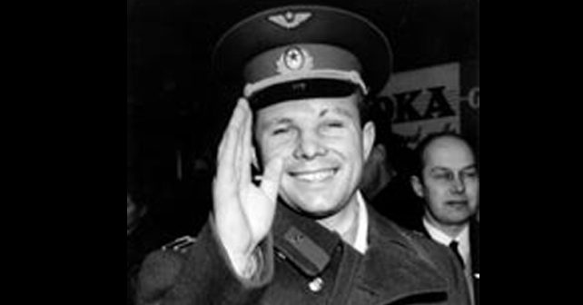 Na fotografiji je prikazan kosmonaut, pilot: Jurij Gagarin