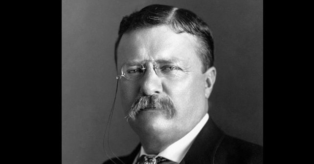 Na fotografiji je prikazan političar, pisac i prirodnjak: Teodor Ruzvelt