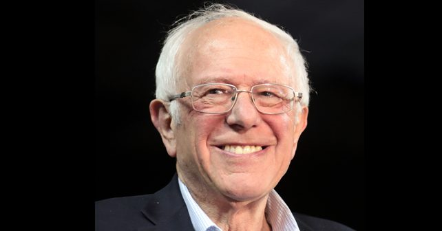 Na fotografiji je prikazan političar: Berni Sanders