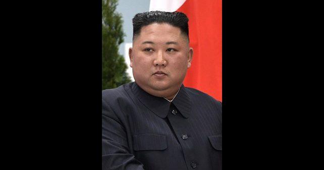 Na fotografiji je prikazan političar: Kim Džong Un