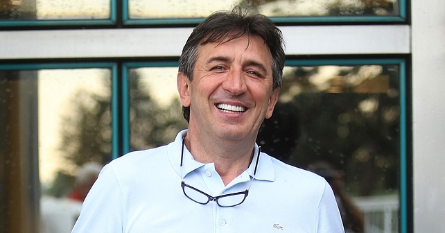 Na fotografiji je prikazan muzički producent, voditelj: Žika Jakšić