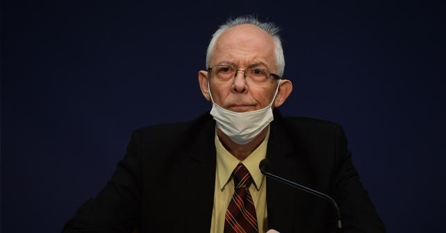 Na fotografiji je prikazan epidemiolog: Predrag Kon