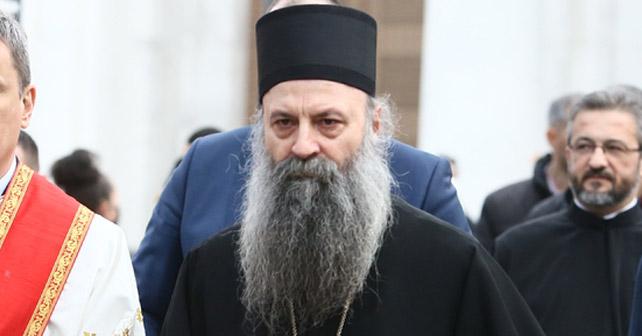 Na fotografiji je prikazan patrijarh: Porfirije (patrijarh srpski)
