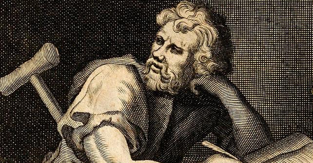 Na fotografiji je prikazan filozof: Epiktet