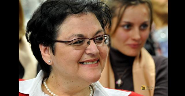 Na fotografiji je prikazan političarka, fizičarka: Gordana Čomić
